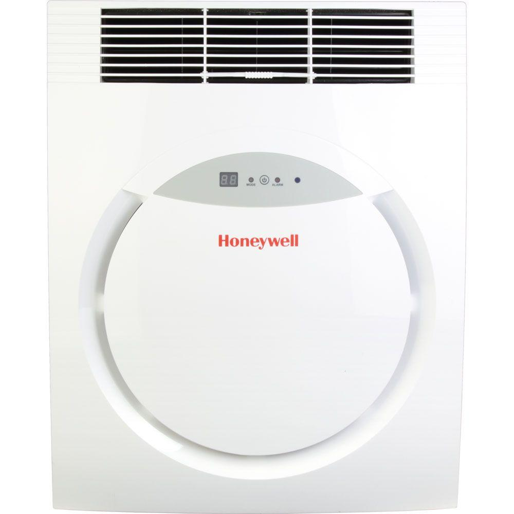 Honeywell 8,000 BTU Portable Air Conditioner with Remote Control in White