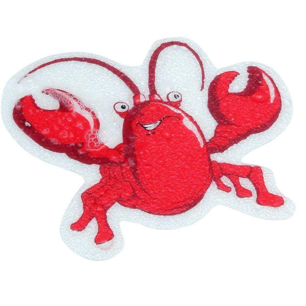 SlipX Solutions Lobster Tub Tattoos (5-Count), Red