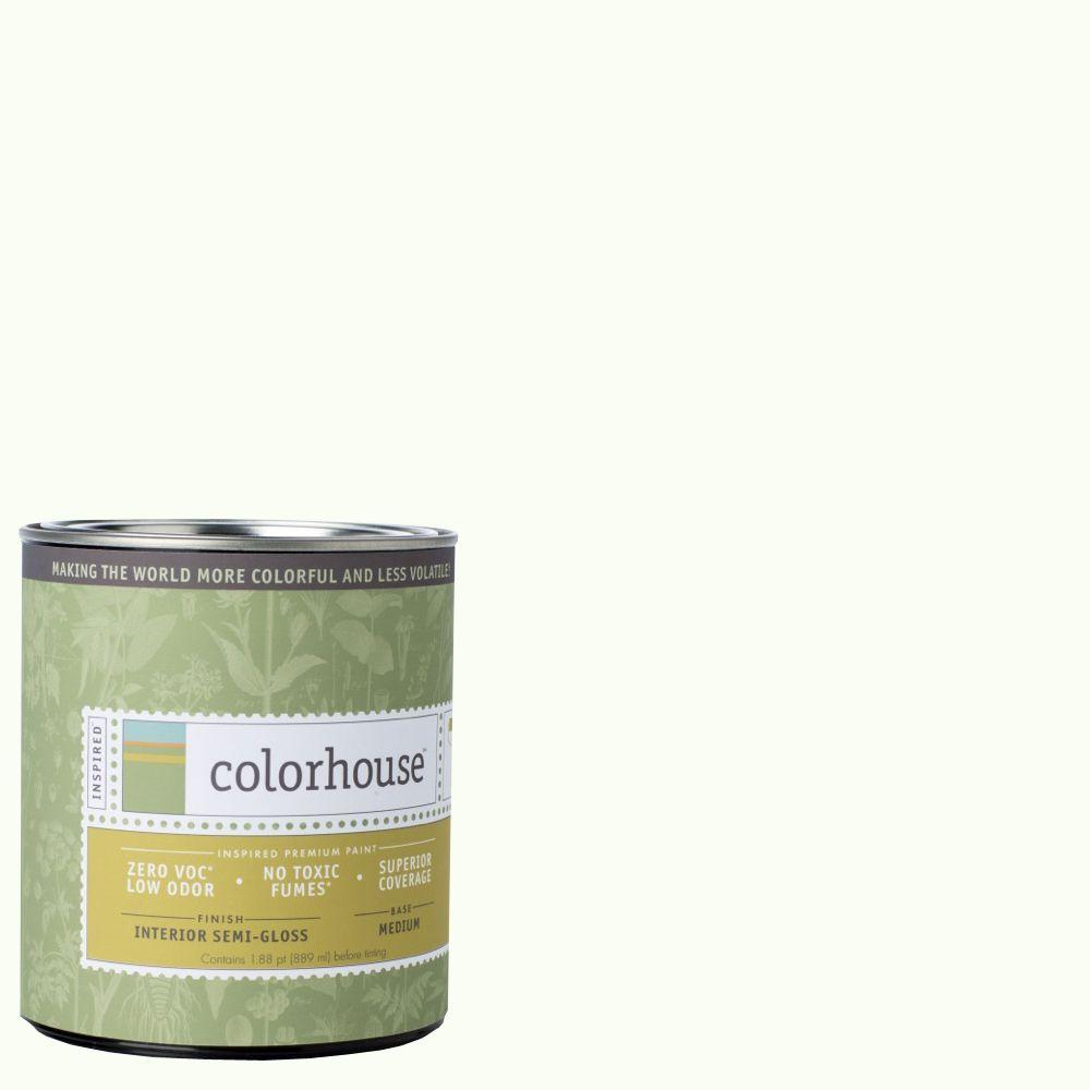 Colorhouse 1-qt. Imagine .02 Semi-Gloss Interior Paint-683422 - The Home Depot