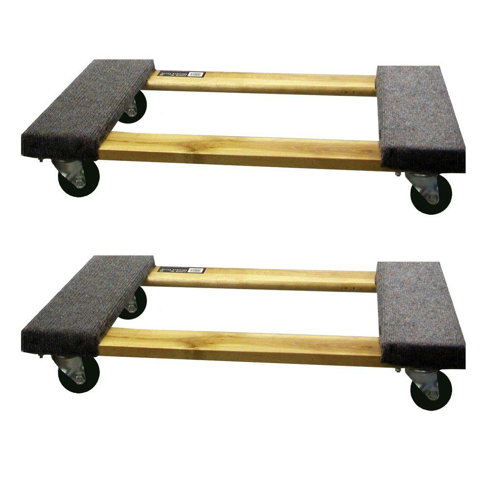 1,000 lb. Capacity Furniture Dolly (2-Pack)