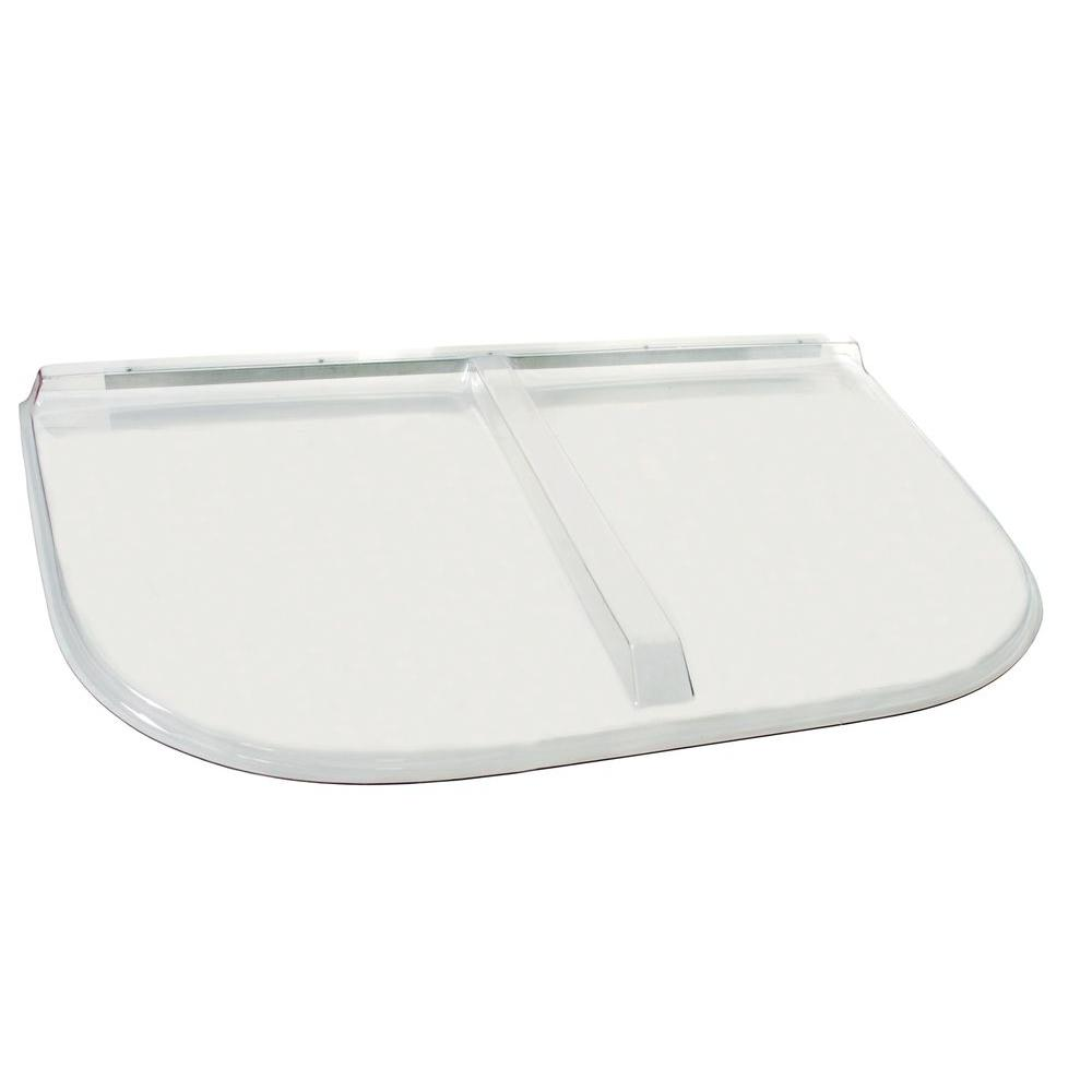 Shape Products 58 in. x 38 in. Polycarbonate Heavy-Arch Egress Cover-5838UMB