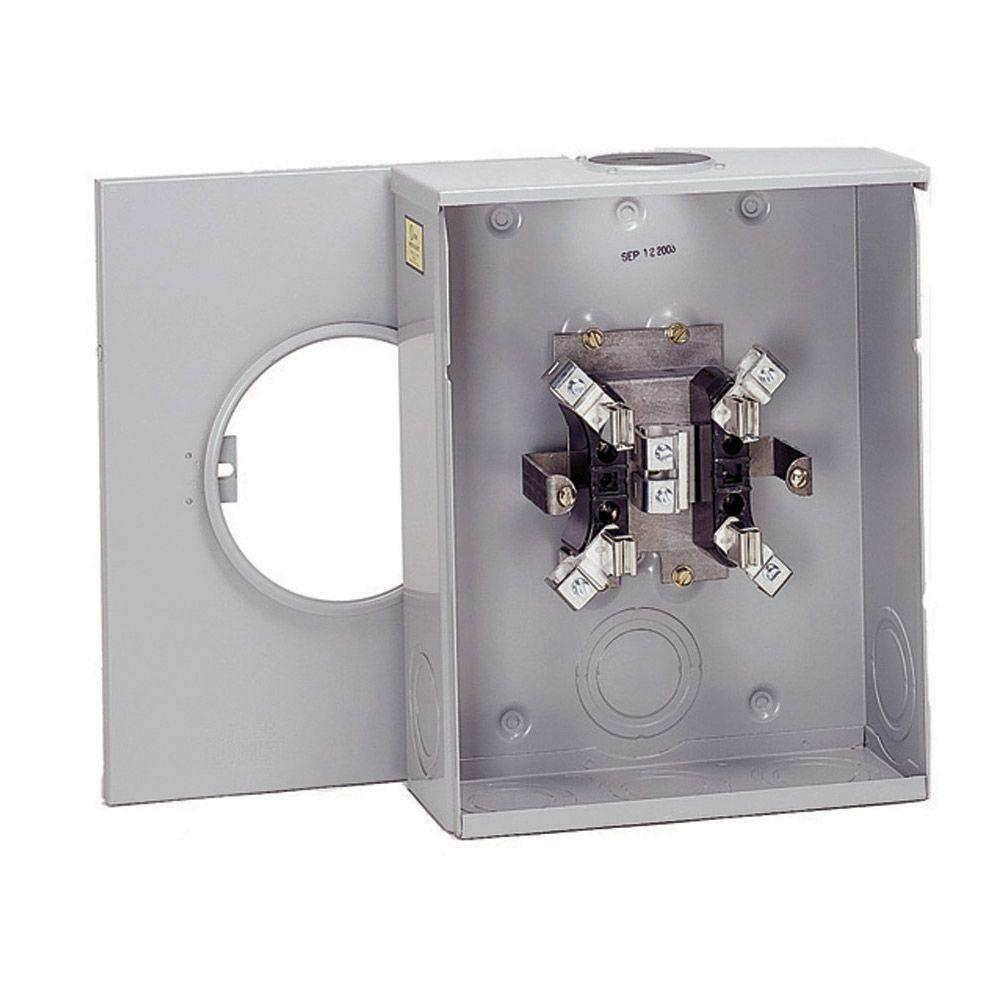 Eaton 100 Amp Single Meter Socket HL&P and Reliant Approved