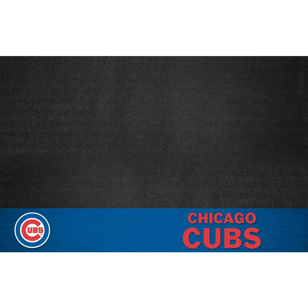 FANMATS Chicago Cubs 26 in. x 42 in. Grill Mat-12148 -