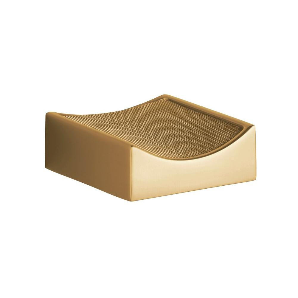 KOHLER Optional Drip Tray with Removable Screen in Vibrant Modern Brushed Gold-DISCONTINUED