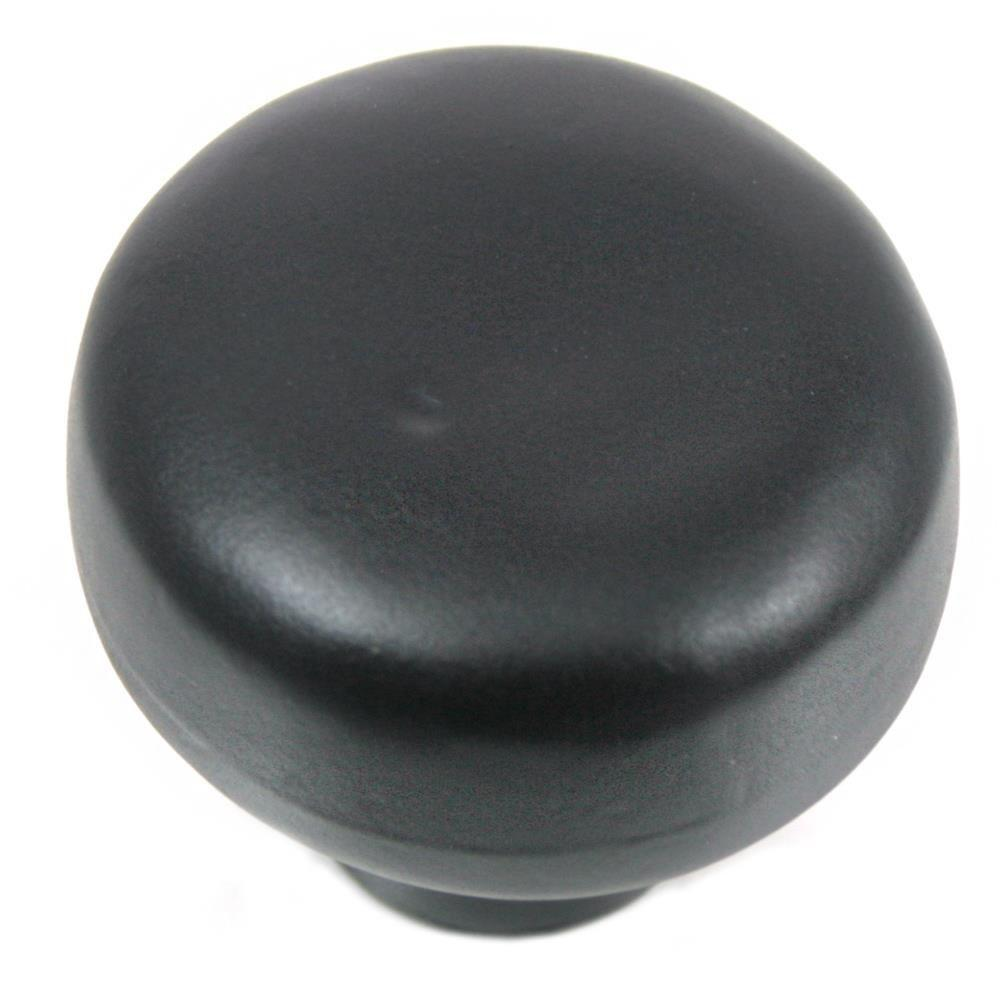 2 in. Oil Rubbed Bronze Large Riverstone Button Knob