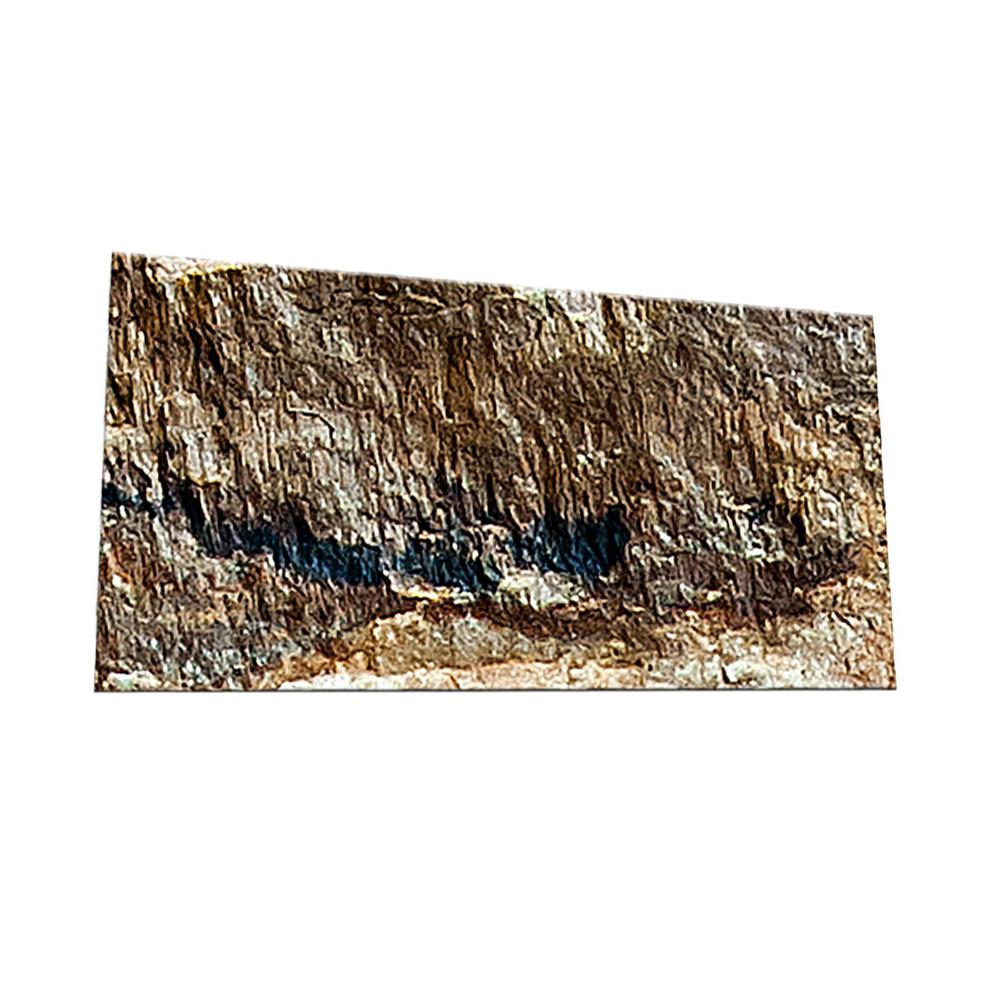 Peel and Stick Rock Surface Shades 3 in. x 6 in.