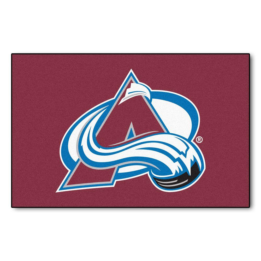 Colorado Avalanche 19 in. x 30 in. Accent Rug