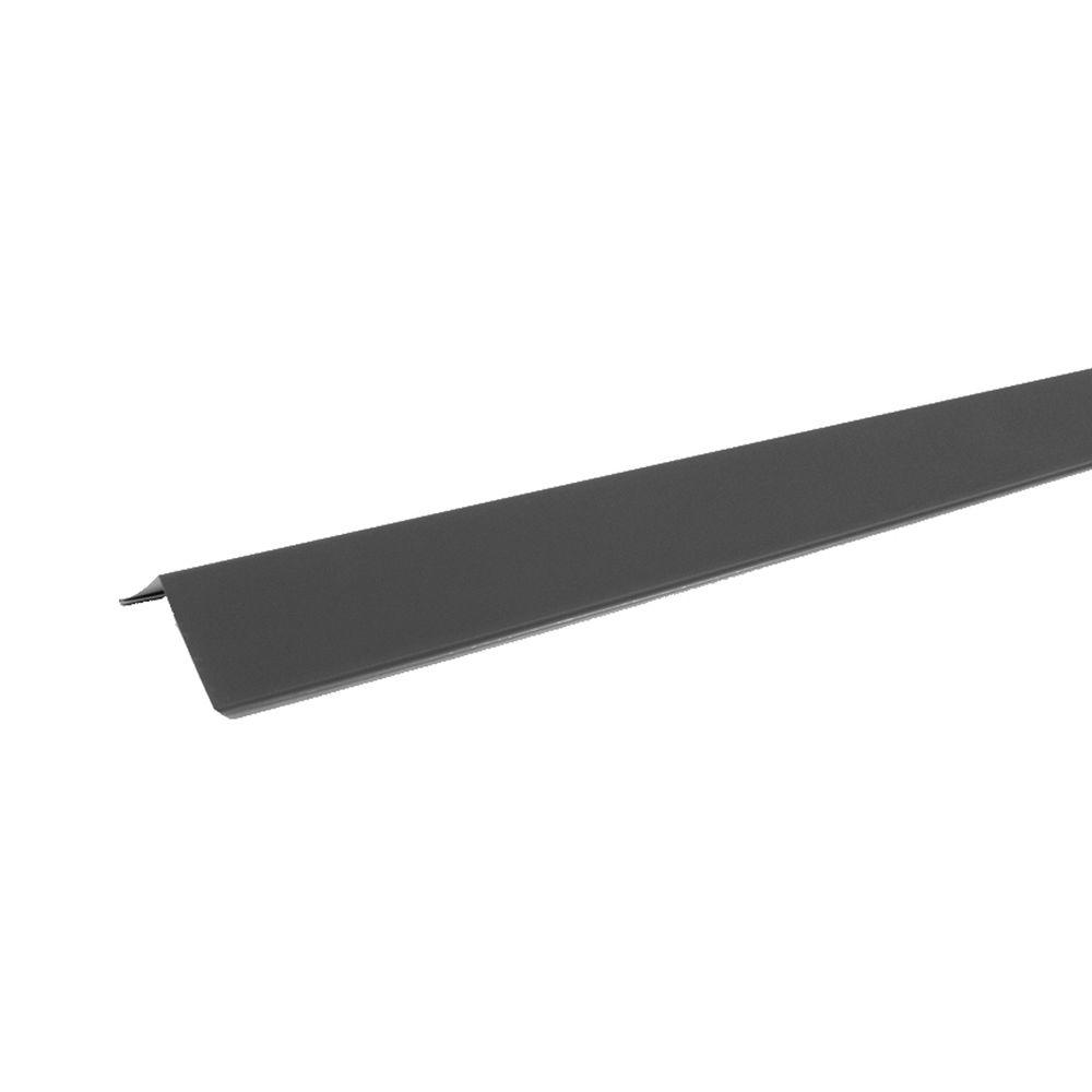 CE1 3 in. x 10-1/2 ft. Galvanized Steel Eave Trim Flashing