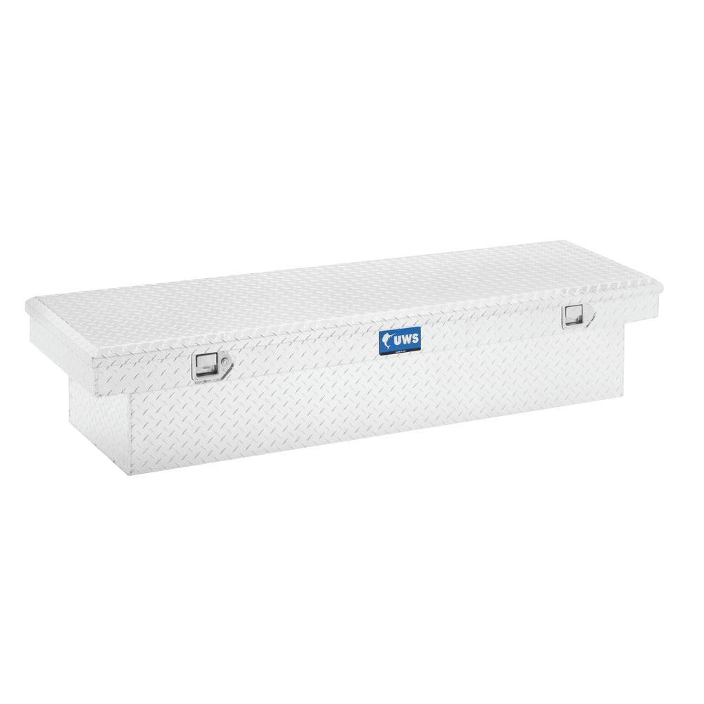 UWS 72 in. Aluminum Single Lid Crossover Tool Box-TBS-72 - The