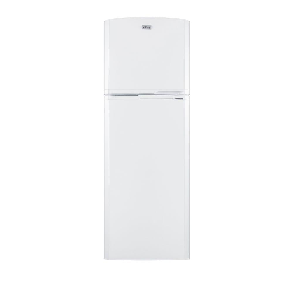 Summit Appliance 8.8 cu. ft. Top Freezer Refrigerator in White, Counter