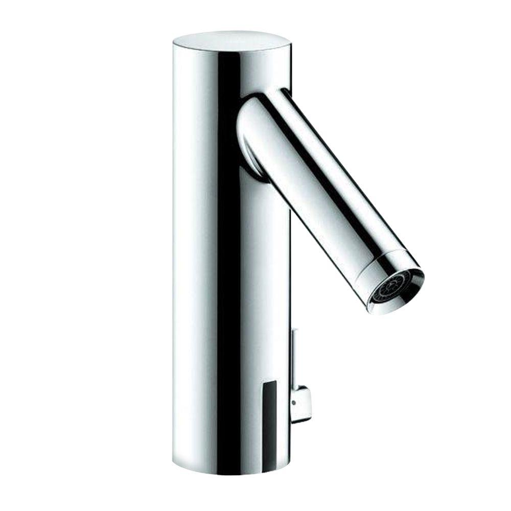 Hansgrohe Axor Starck Battery-Powered Touchless Lavatory Faucet in Chrome-DISCONTINUED
