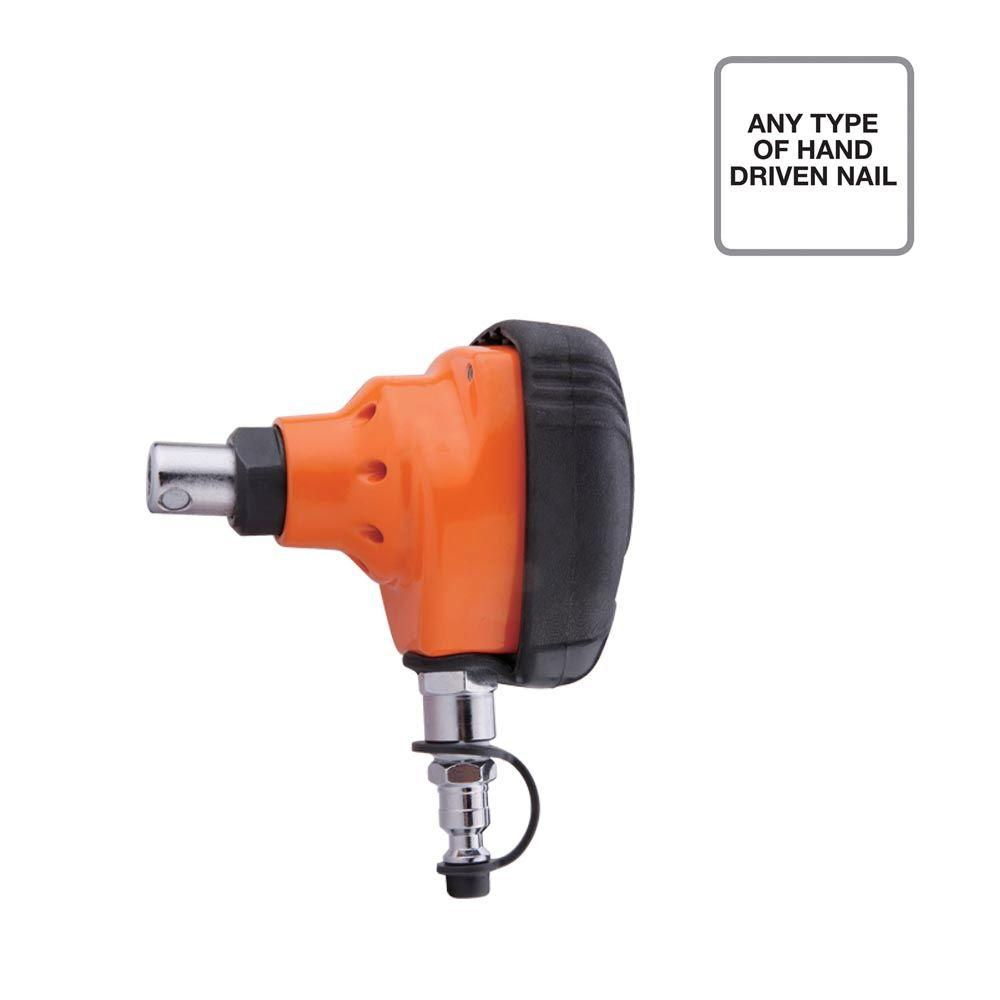 Freeman Pneumatic Mini Palm Nailer with Cushion Hand Grip and Magnetic Tip