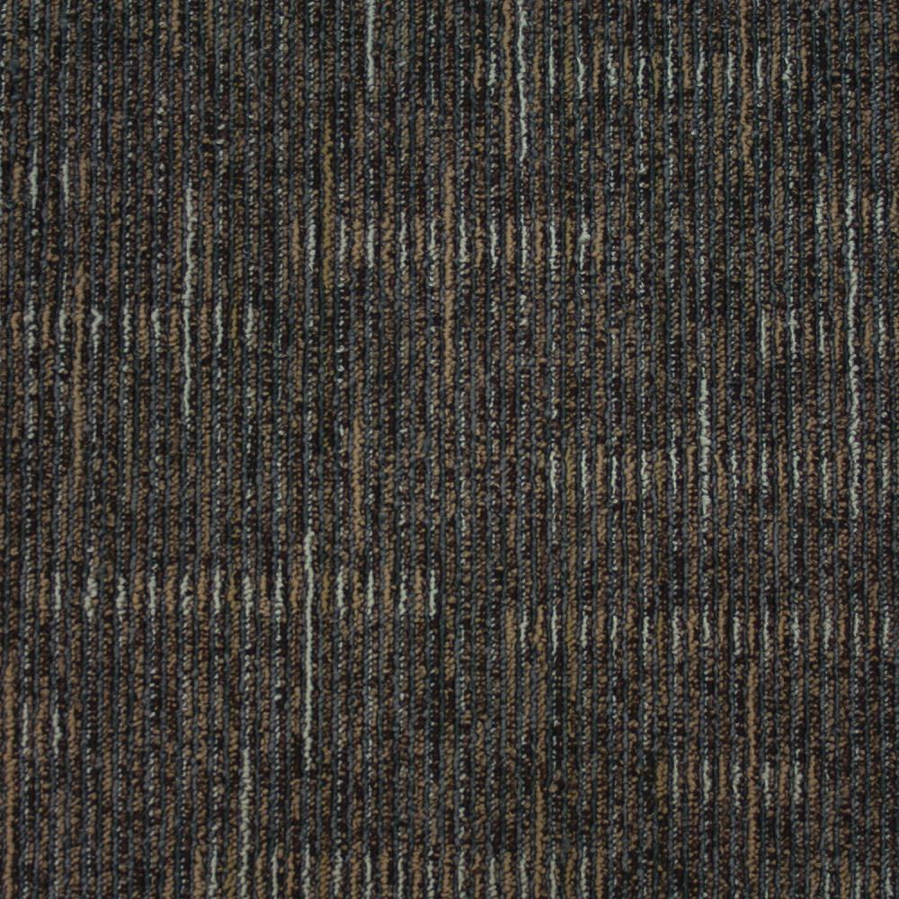 Simply Comfort Silver Taupe Loop 19.7 in. x 19.7 in. Carpet