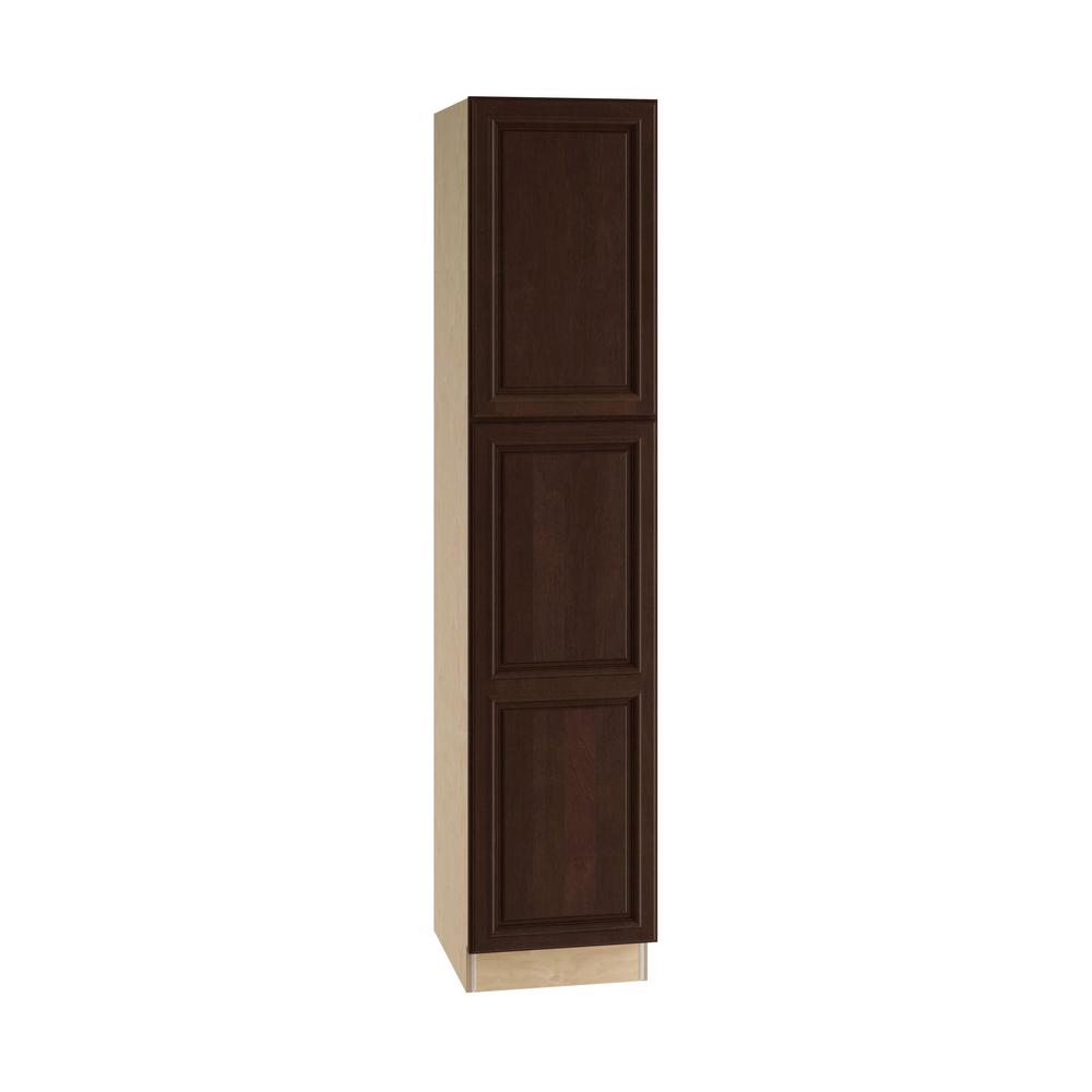 Home Decorators Collection Somerset Assembled 18 X 84 X 21 In Pantry Utility 2 Single Door