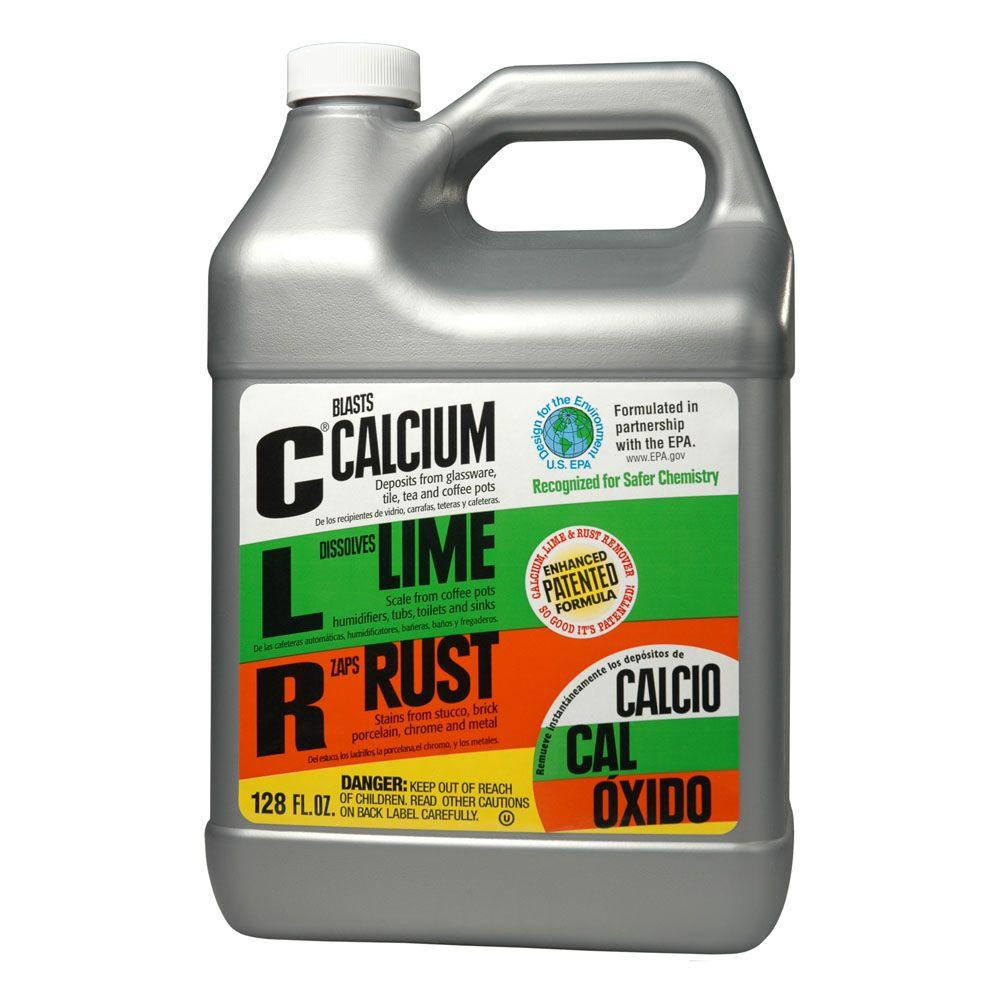 Clr 1 gal calcium lime and rust remover 4 case cl4 Ingredients in clr bathroom cleaner