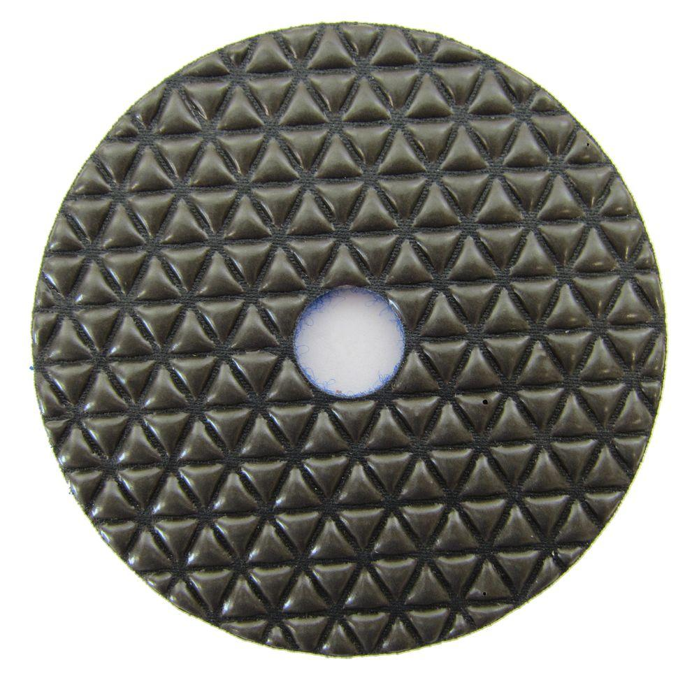 Archer USA 4 in. #400 Grit Dry Diamond Polishing Pad for Stone