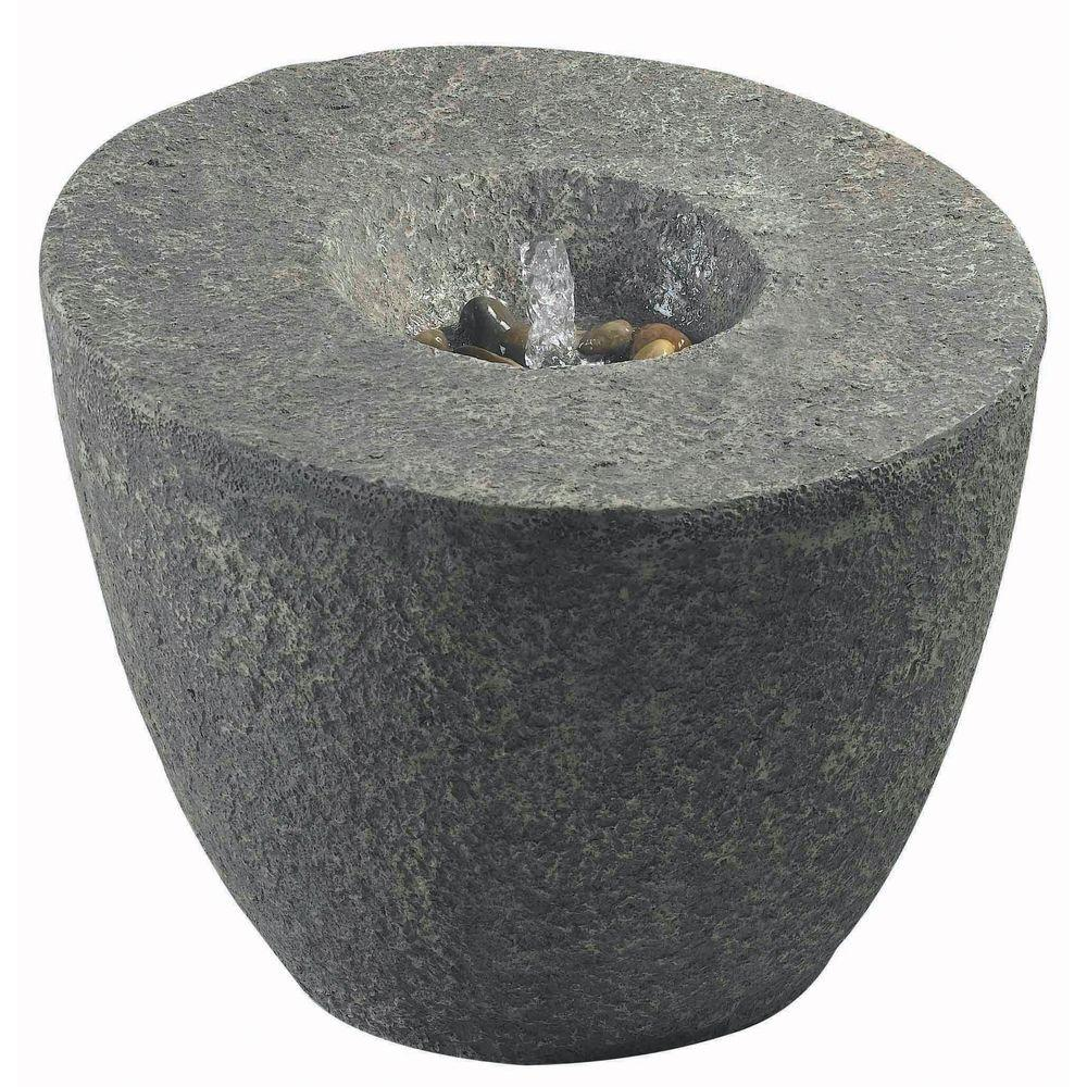 Magma 24 in. Outdoor Natural Rock Fountain