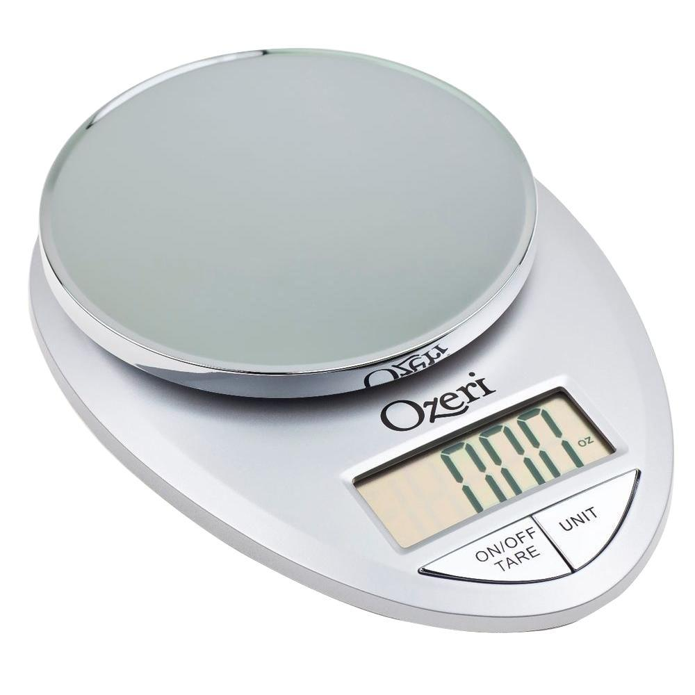 Pro Digital Kitchen Food Scale, 1 g to 12 lbs. Capacity,