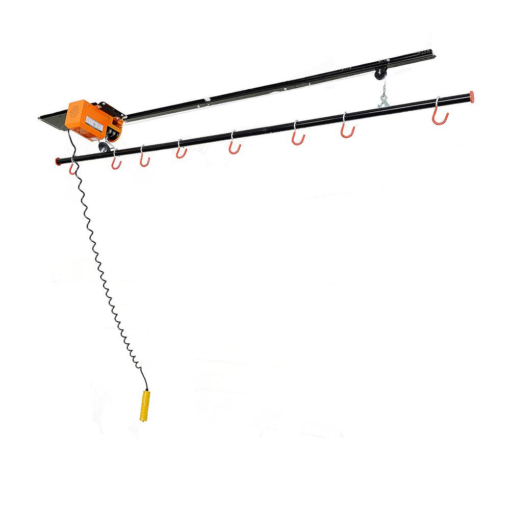 220 lb. Motorized Garage Ceiling Storage Lift for Bikes, ...