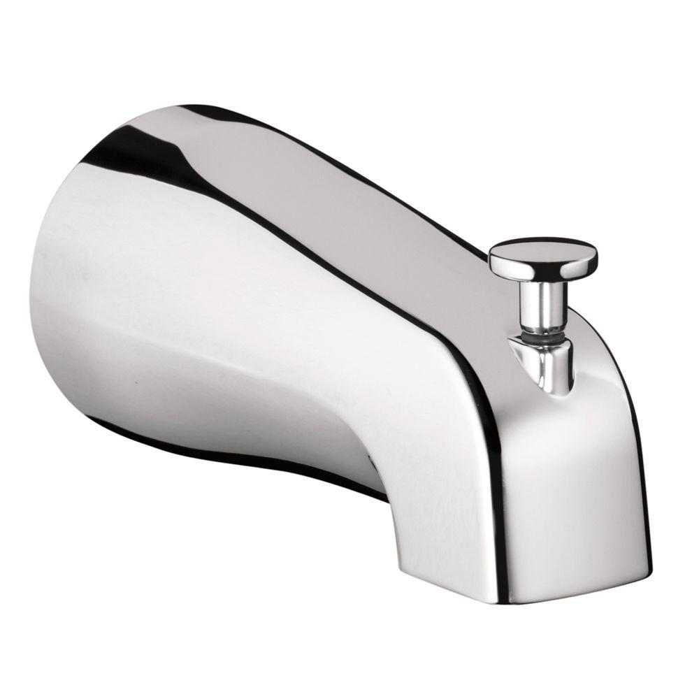 Tub Spout with Diverter in Chrome