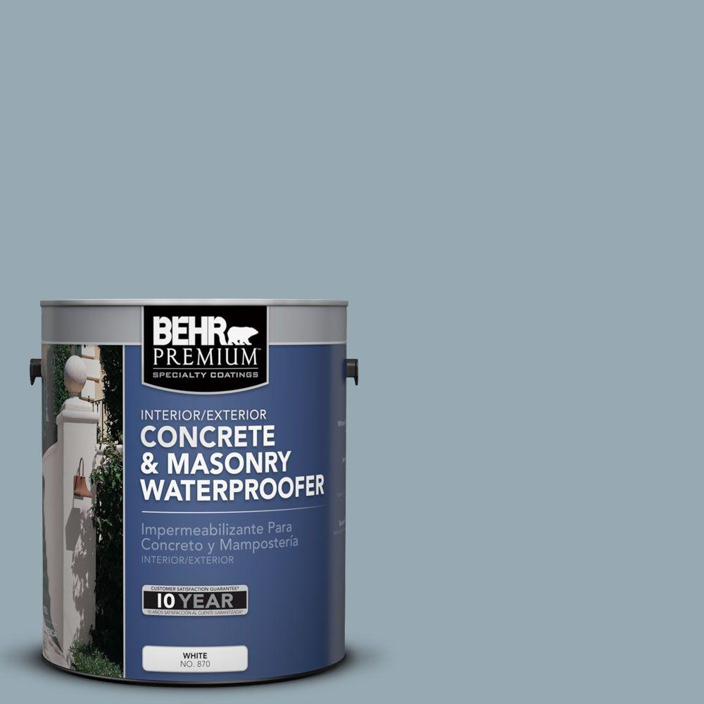 BEHR Premium 1 gal. #BW-54 Steely Blue Concrete and Masonry Waterproofer