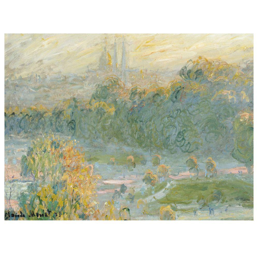 Trademark Fine Art 18 in. x 24 in. The Tuileries Canvas