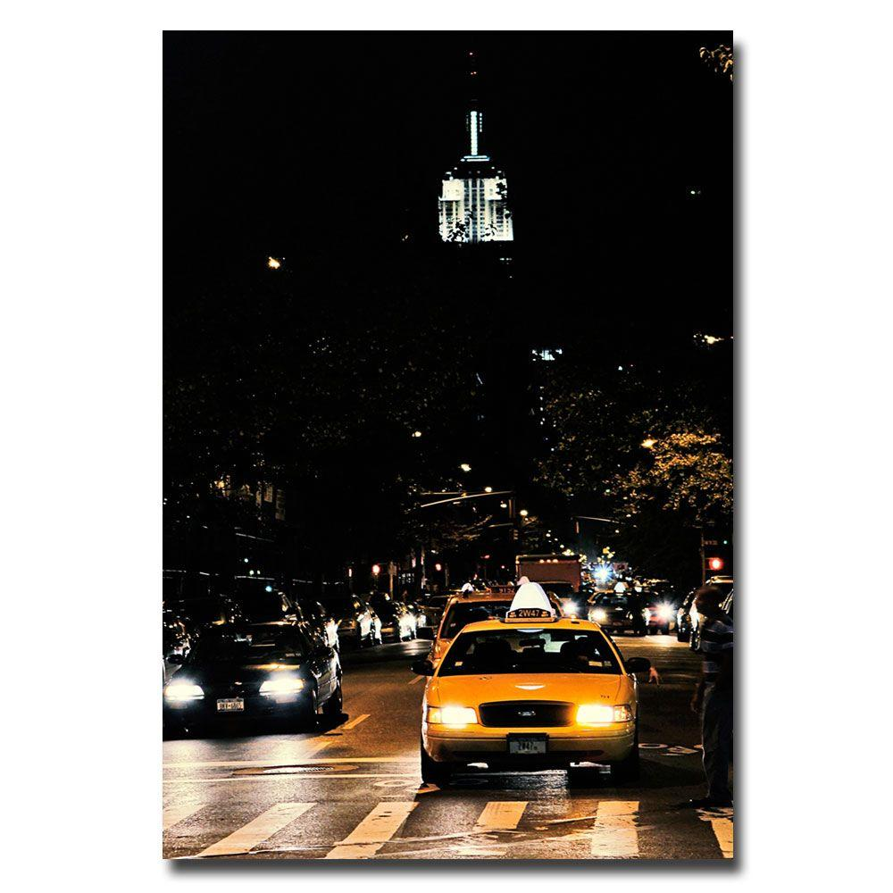 22 in. x 32 in. Empire State of Mind Canvas Art