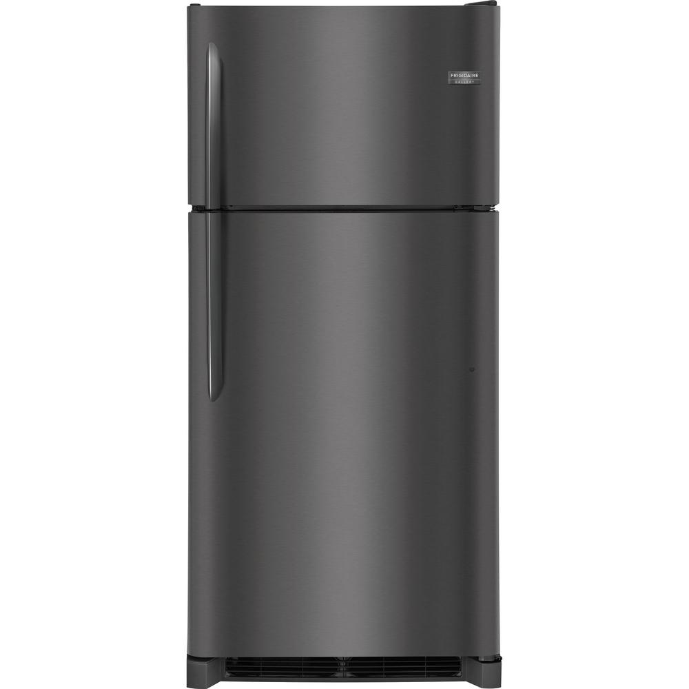 18.1 cu. ft. Top Freezer Refrigerator in Smudge Proof Black Stainless