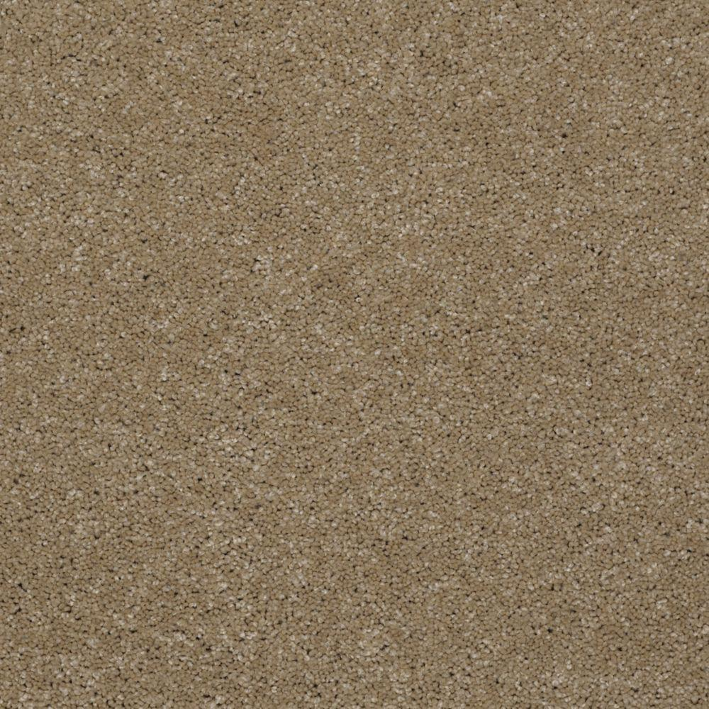 Martha Stewart Living Elmsworth - Color Nutshell 6 in. x 9 in. Take Home Carpet Sample