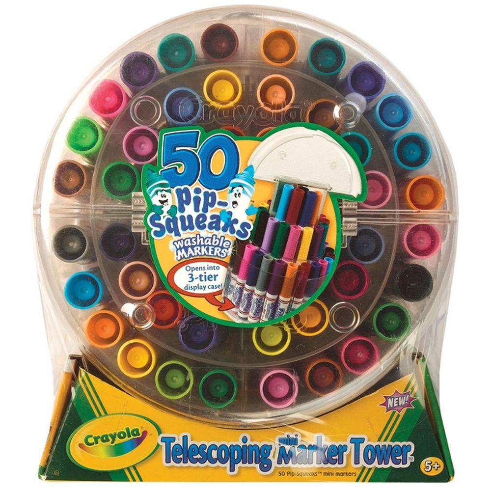 Pip-Squeaks Telescoping Mini Marker Tower (50-Pack)