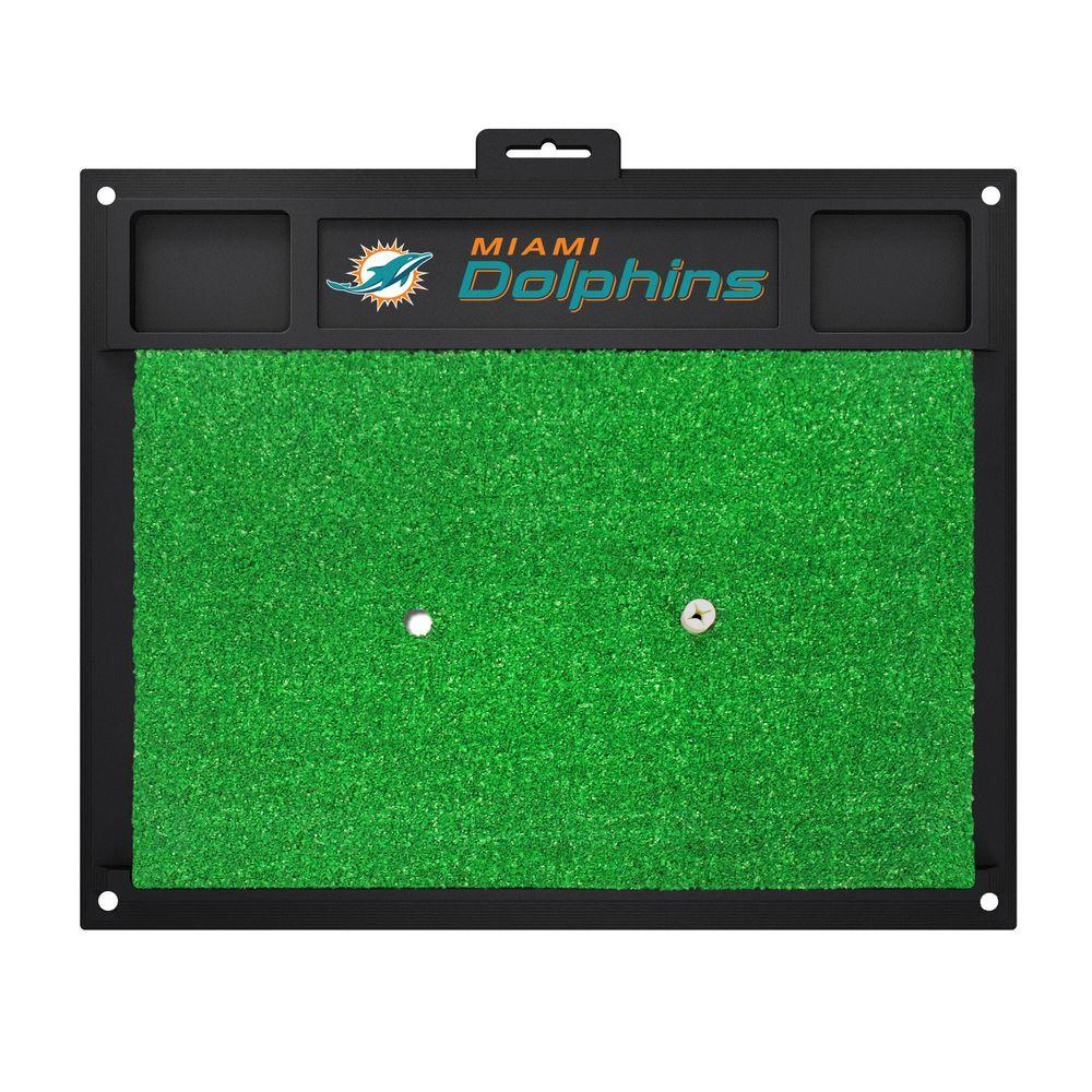 FANMATS NFL Miami Dolphins 17 in. x 20 in. Golf Hitting