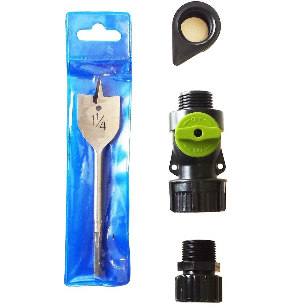 Add-A-Spigot Kit to Any Rain Barrel or Container