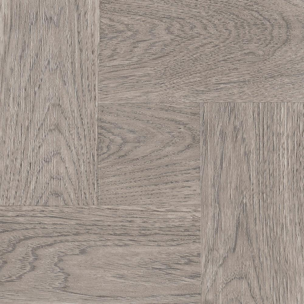 12 in. x 12 in. Grey Taupe Wood Residential Peel and