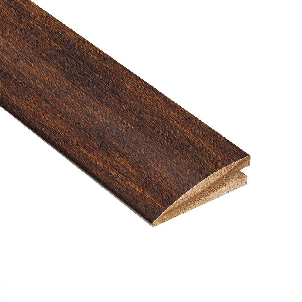 Strand Woven Java 3/8 in. Thick x 1-7/8 in. Wide x 78 in. Length Bamboo Hard Surface Reducer Molding