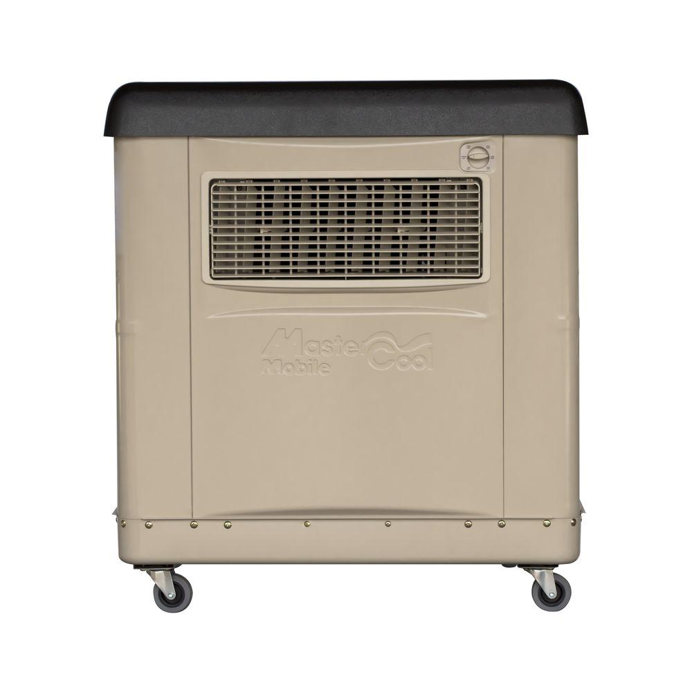1600 CFM 2-Speed Portable Evaporative Cooler for 800 sq. ft. (with
