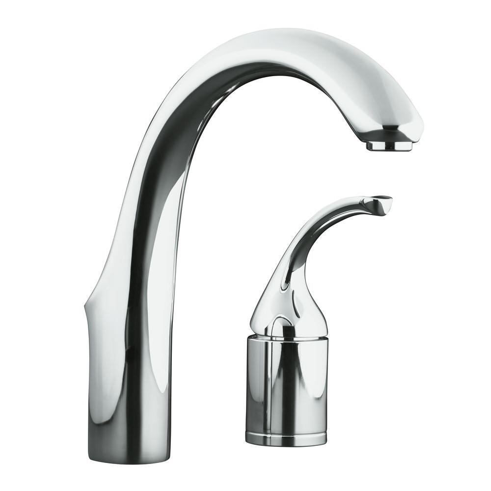 Forte 2-Hole Single Handle Bar Faucet in Polished Chrome