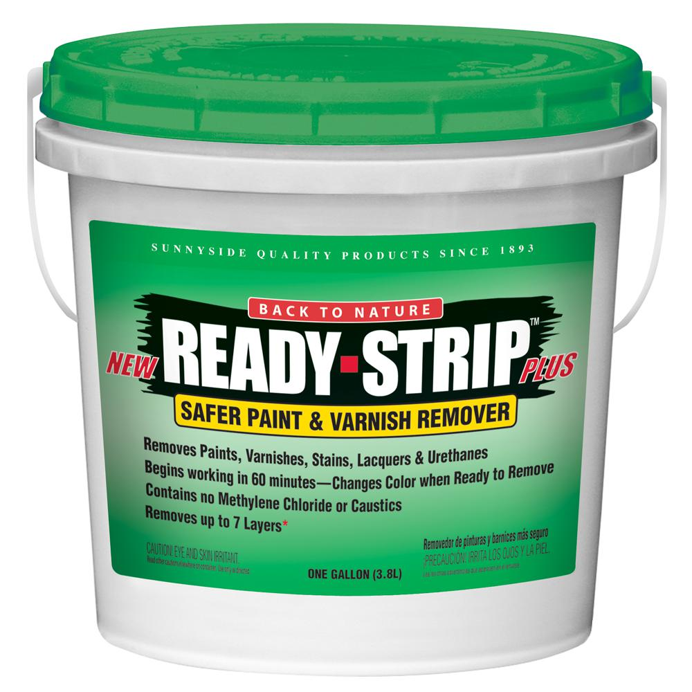 Ready-Strip 1 Gal. Safer Paint and Varnish Remover and Environmentally Friendly