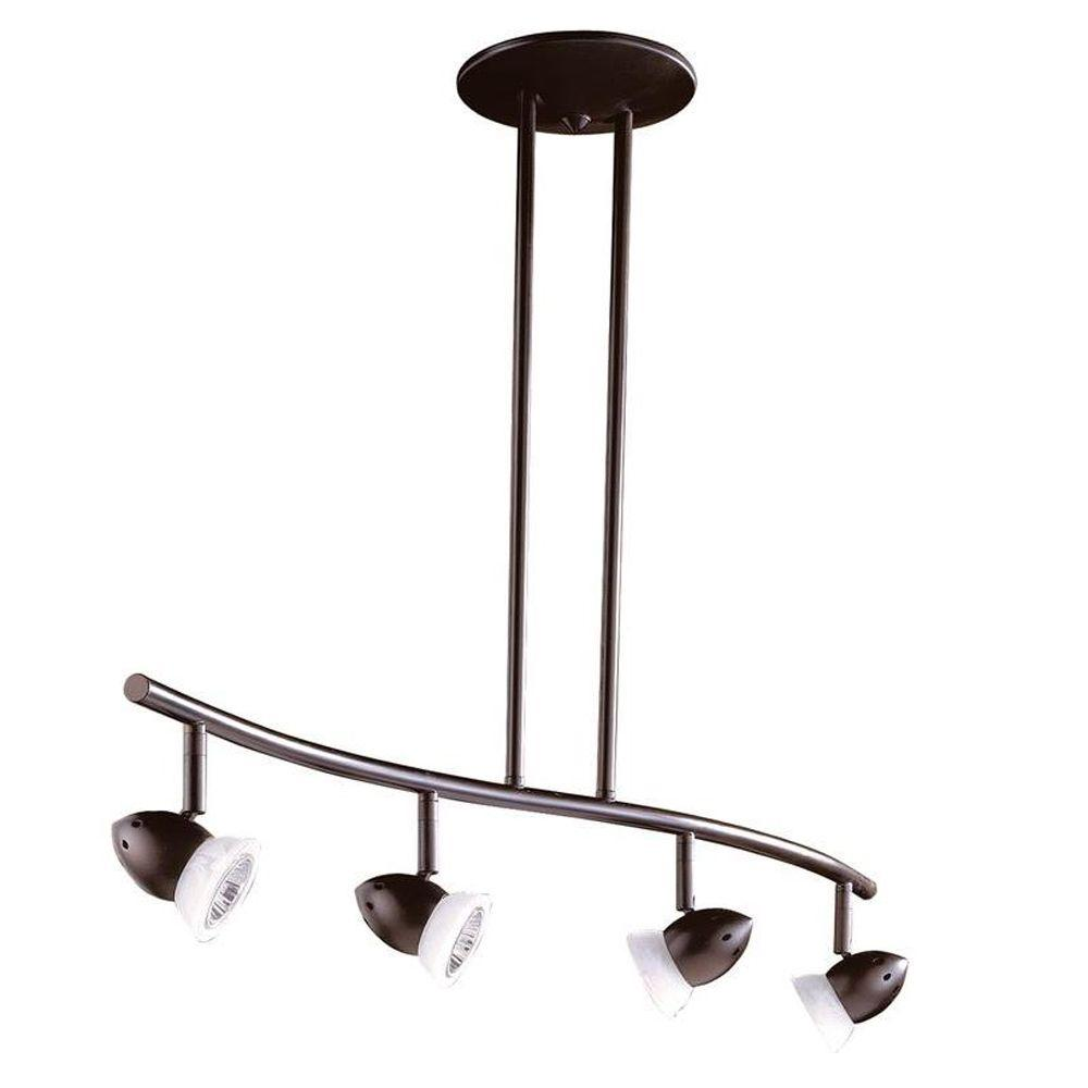 Cassiopeia 4-Light Ceiling Oil Rubbed Bronze Incandescent Island Light