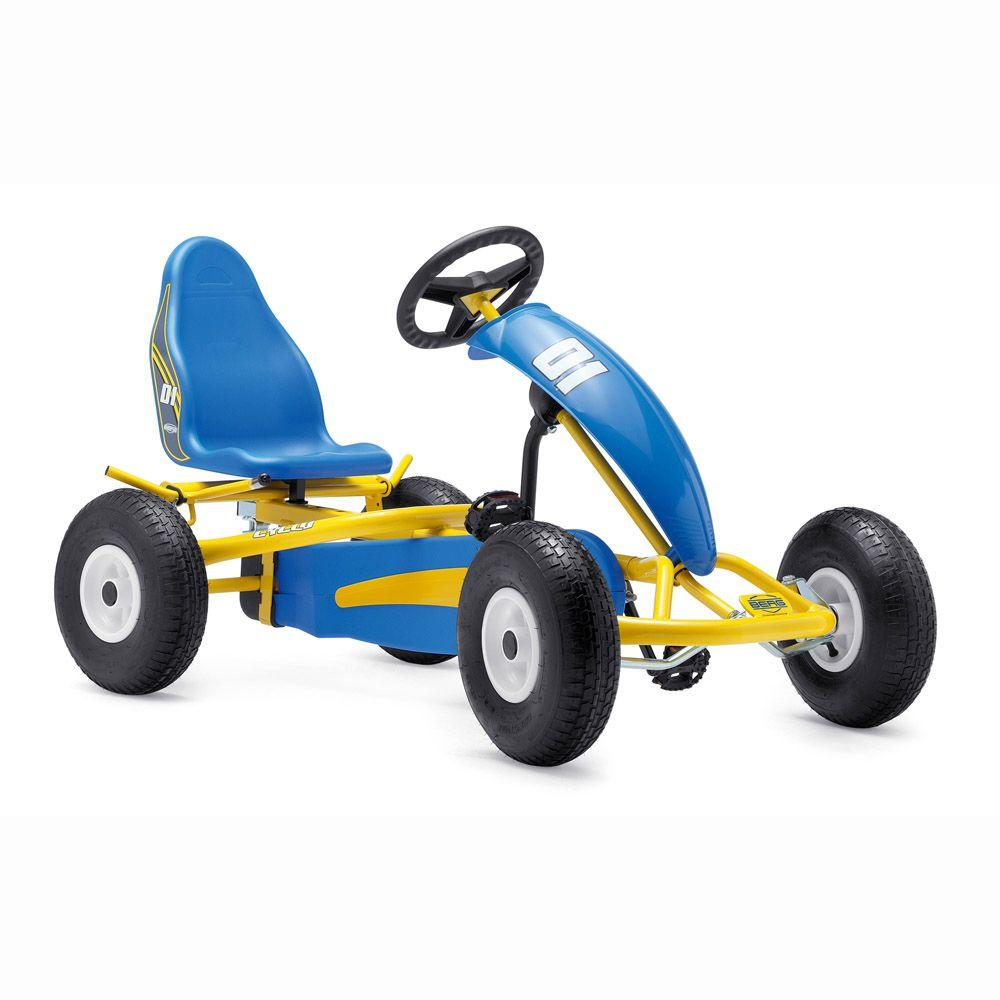 BERG Cyclo Yellow and Blue Youth Pedal Go-Kart