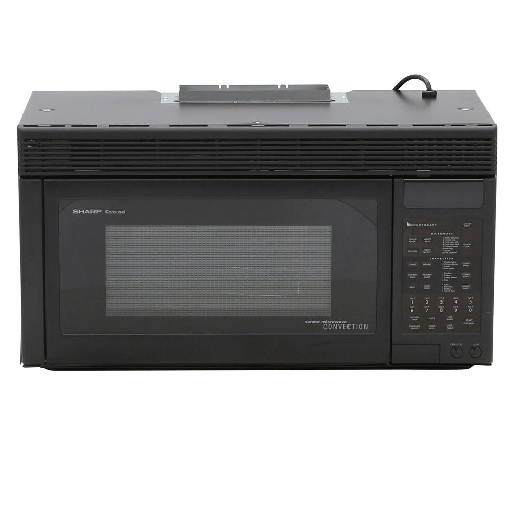 Over The Range Microwave Ovens ~ Sharp cu ft watt over the range convection