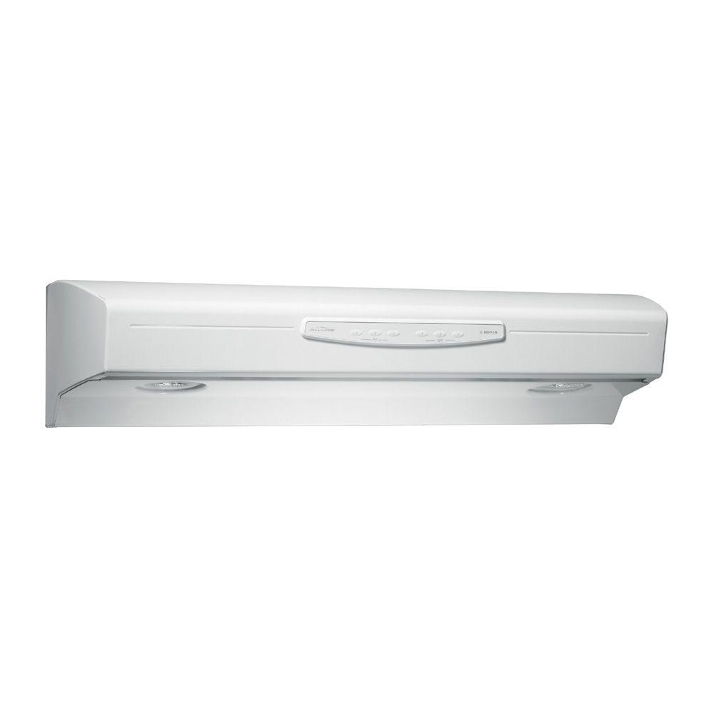 Allure 2 Series 30 in. Convertible Range Hood in Bisque-on-Bisque