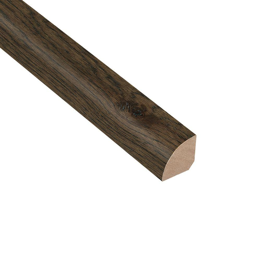 Wire Brushed Hickory Coffee 3/4 in. Thick x 3/4 in. Wide