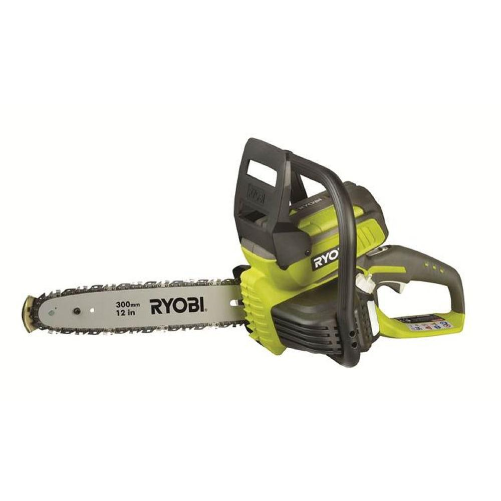 12 in. 40-Volt Lithium-Ion Electric Cordless Chainsaw