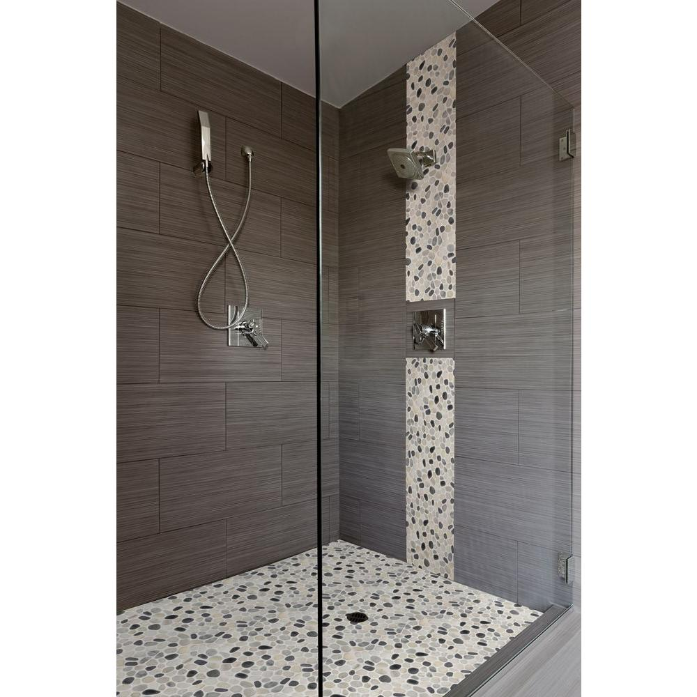 Ms International Classico Blanco 12 In X 24 In Glazed Porcelain Floor And Wall Tile 16 Sq Ft