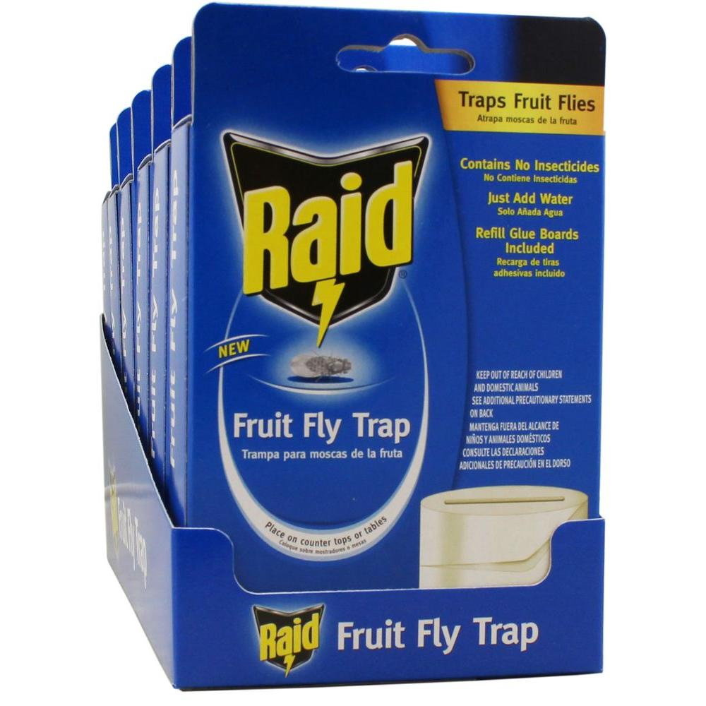 Raid Fruit Fly Trap (6-Pack)