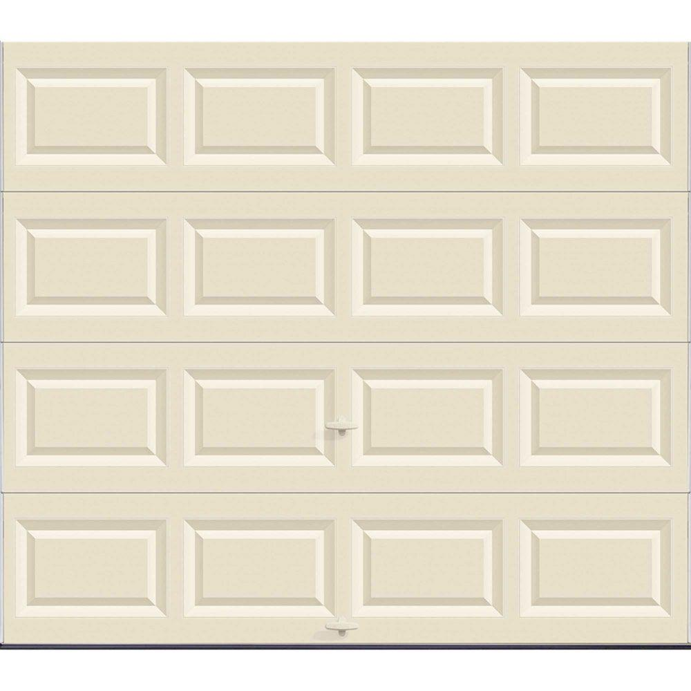 Value Series 8 ft. x 7 ft. Non-Insulated Solid Almond Garage