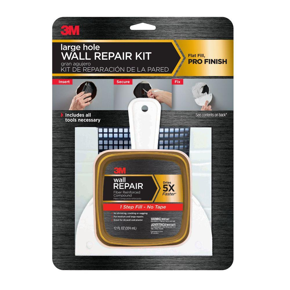 How to repair large hole in drywall - Large Hole Wall Repair Kit