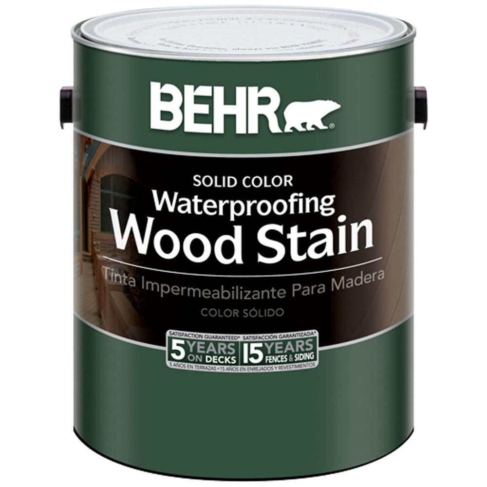 BEHR 1-gal. Deep Base Waterproofing Wood Stain