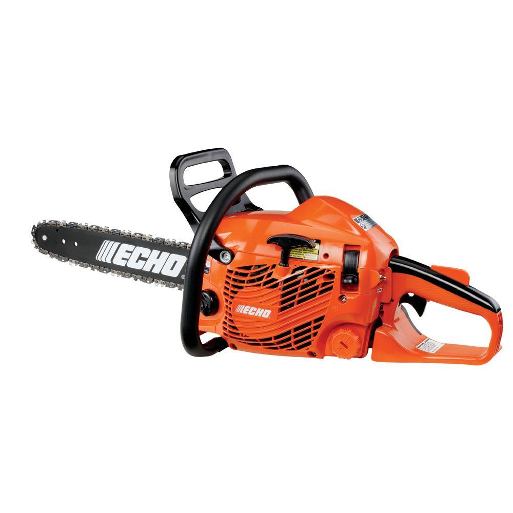 ECHO Refurbished 16 in. 34cc Gas Chainsaw-CS-352-16AA - The Home Depot
