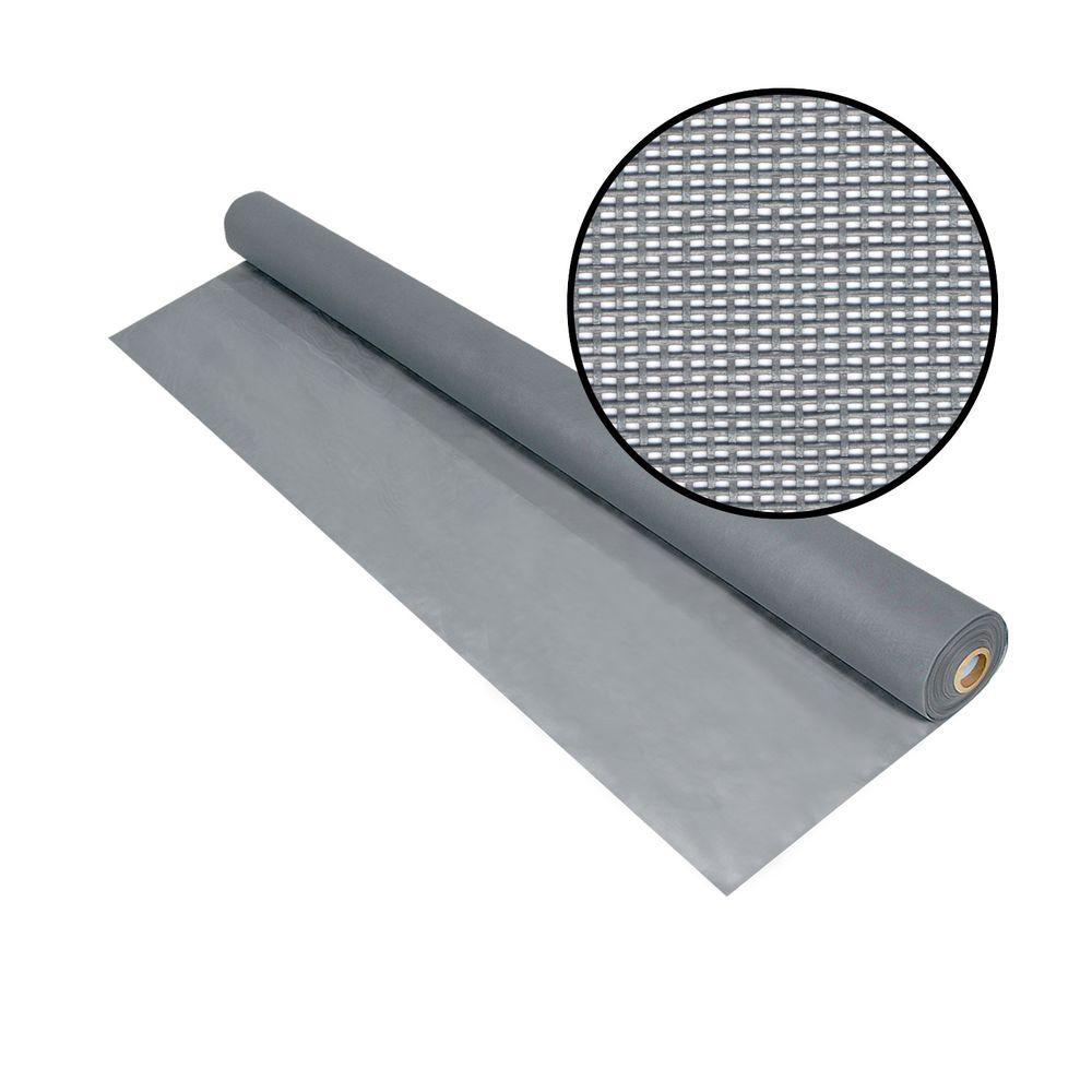 60 in. x 100 ft. Silvergray Solar Insect Screen